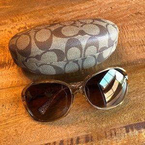 COACH Natasha Oversized Sunglasses